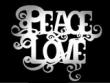 logo Peace & Love Borlänge