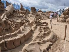 Zandsculpturen Festival Friesland