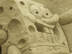 Zandsculpturen Festival Friesland Nederland