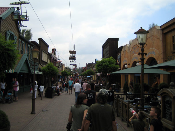 Attractiepark Slagharen Mainstreet Foto 1