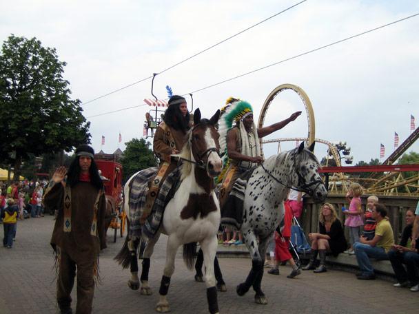 Attractiepark Slagharen Main Street Parade Foto 8