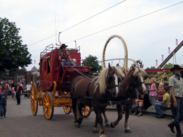 Attractiepark Slagharen Main Street Parade Foto 9