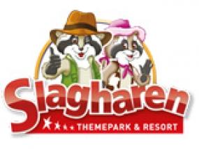 logo Slagharen Raccoon lodge