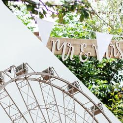 Afbeelding: Trouw in een pretpark of dierentuin!